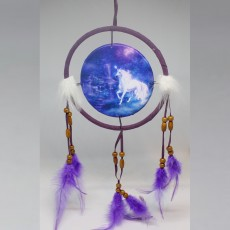Blue Unicorn Dreamcatcher