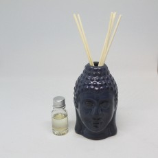 Buddah Vase Diffuser with Fragranced Oil and Reeds