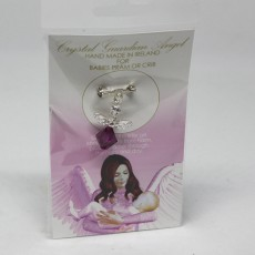 Crystal Baby Charm Pink