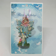 Happy Birthday Fairy Pin