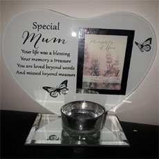 Special Mum Glass Plaque/Photo Frame