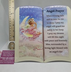 Angel Prayer Plaque
