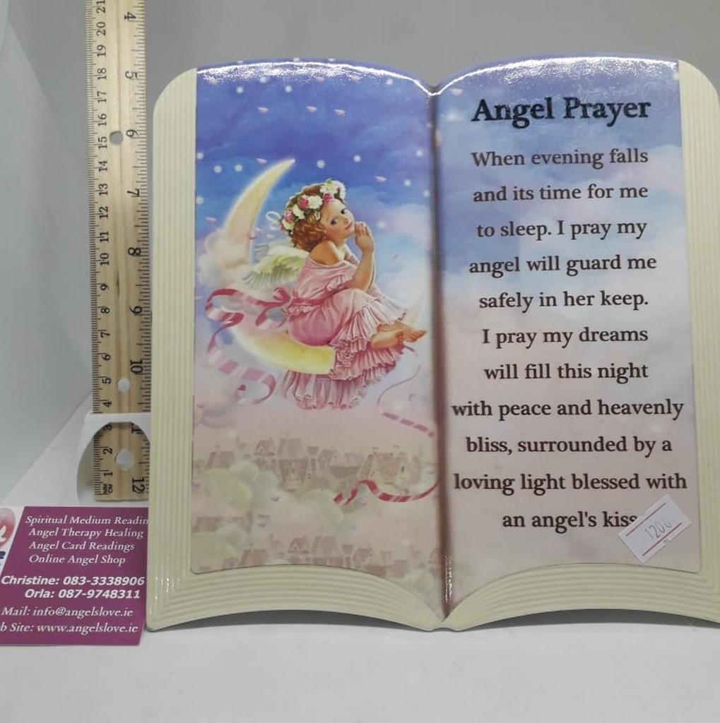 Angel Prayer Plaque