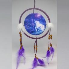 Blue Unicorn Dreamcatcher