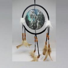 2 Wolves Dreamcatcher