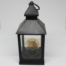 Black Battery Operated Lantern