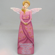 Large Pink Angel