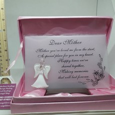 Dear Mother Plaque In Presentation Case