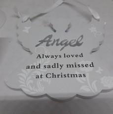 Remembering Angel Christmas Tree Hanger